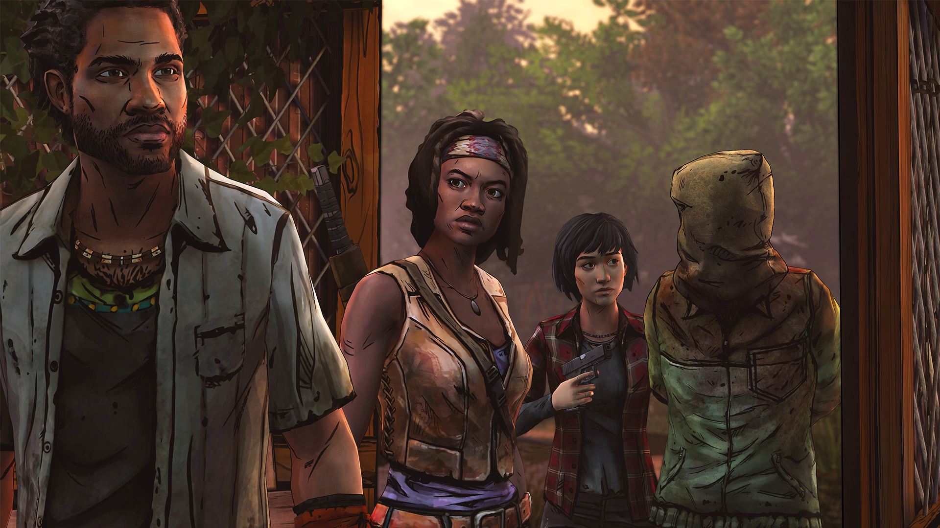 The Walking Dead Michonne (6)