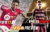 FIFA 17 vs PES 2017