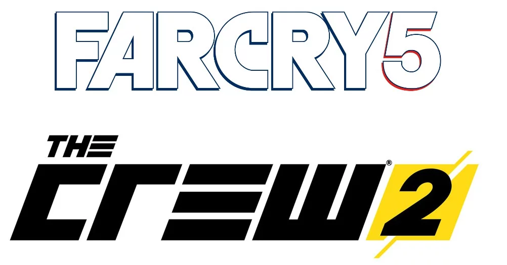Ubisoft Far Cry 5 Assassin's Creed The Crew 2 logo