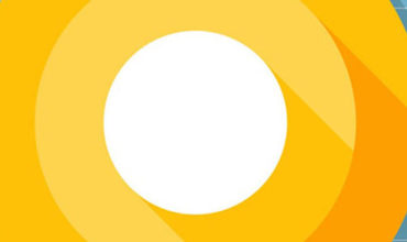 Android O logo cover