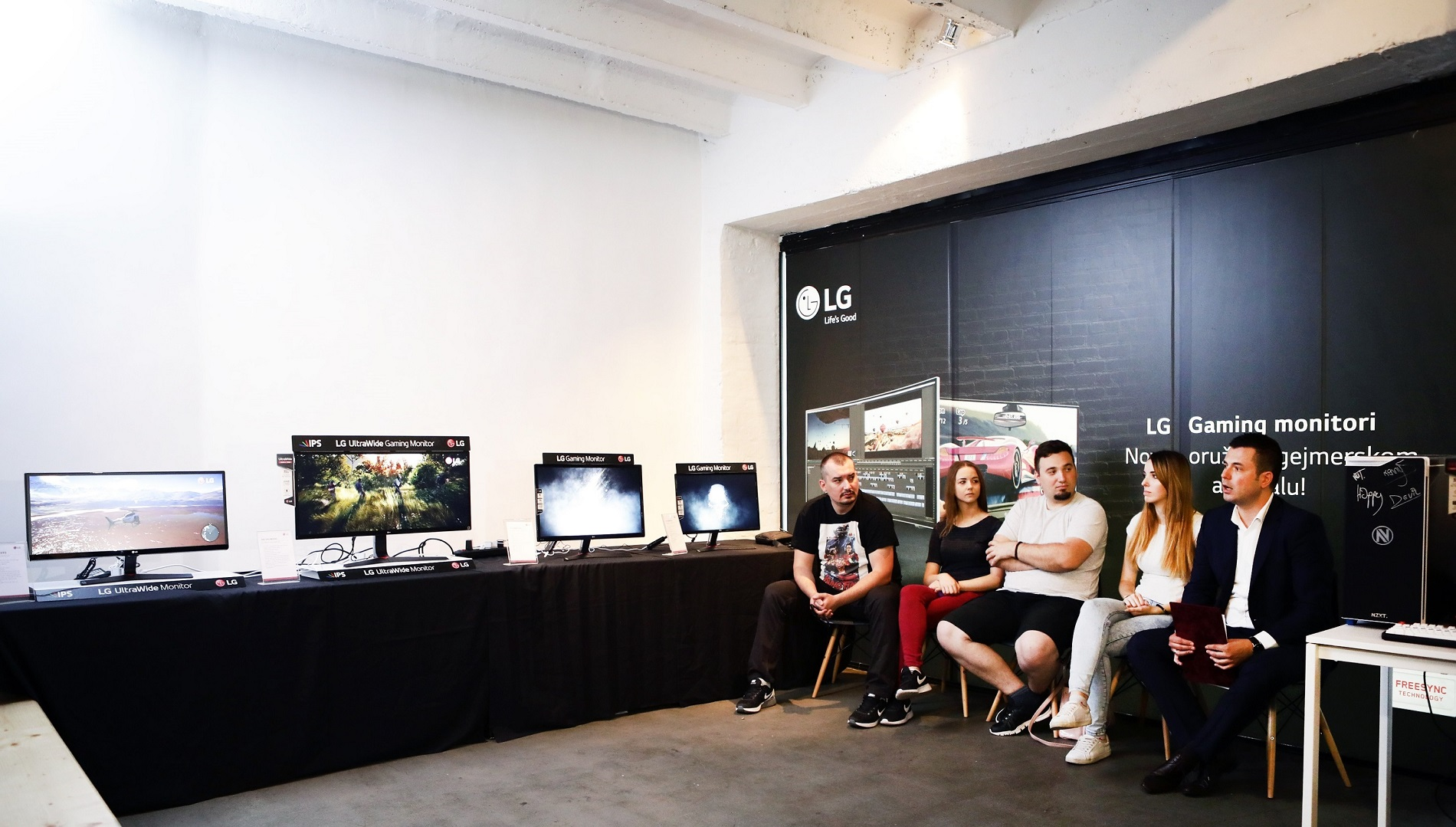 Predstavljanje novih LG gejming monitora_Konferencija