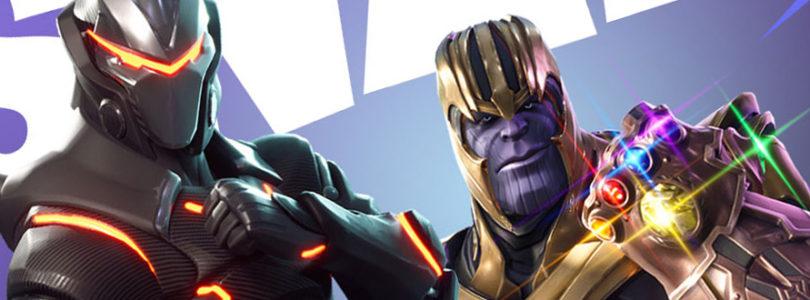 Fortnite Thanos Avengers Crossover cover
