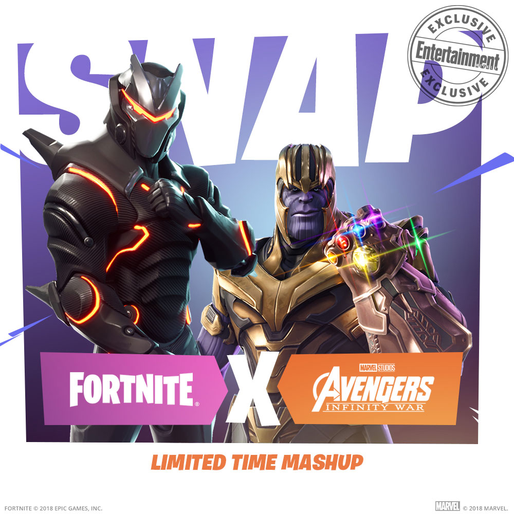 Fortnite Thanos Avengers Crossover