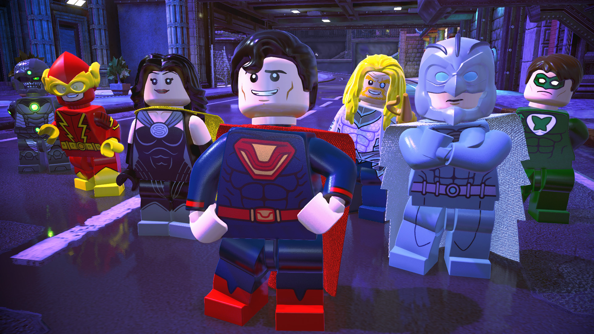 Lego DC Super-Villains screenshots