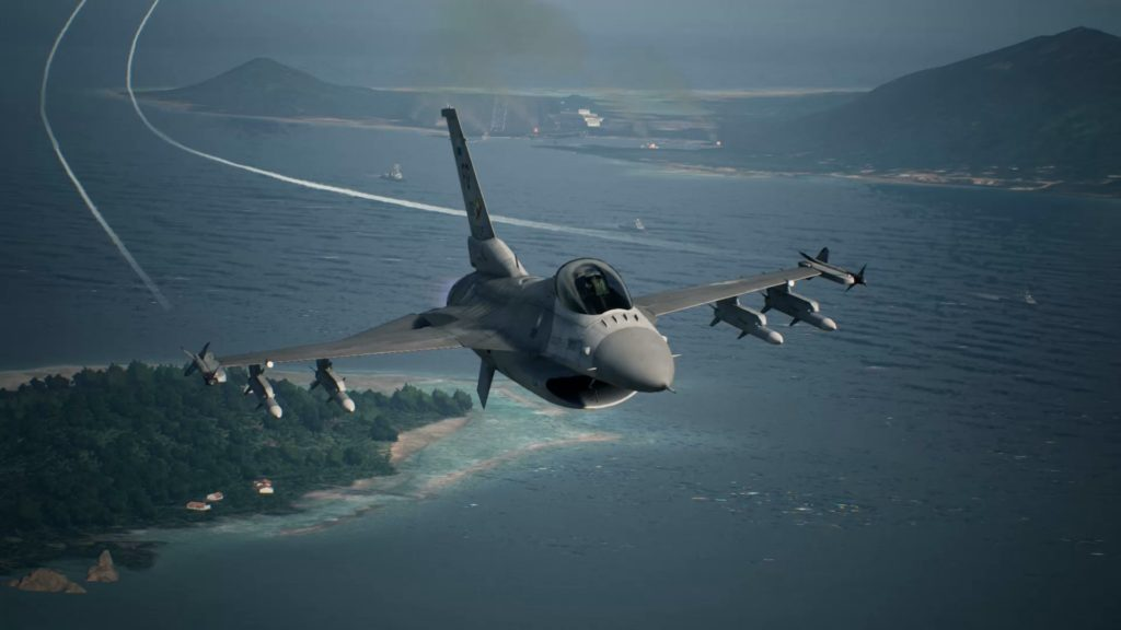 Ace Combat 7 Skies Unknown opis recenzija screenshot review
