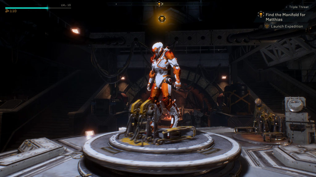 Anthem VIP demo screenshot
