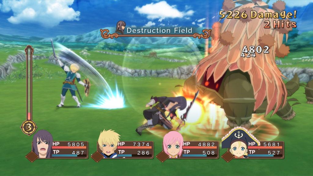 Tales of Vespiria review screenshots