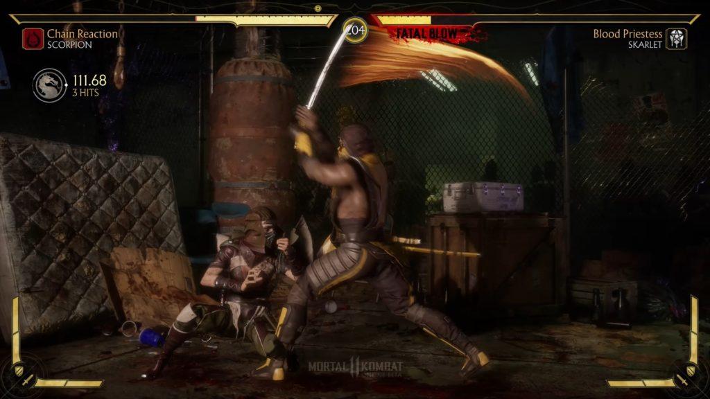 Mortal Kombat 11 beta test screenshot first impressions