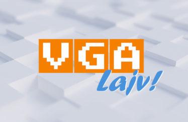 VGA Lajv livestream gameplay sajt