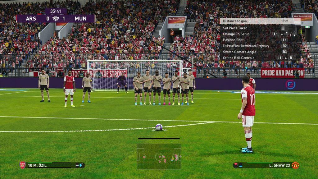 eFootball PES 2020 screenshots Pro Evolution Soccer