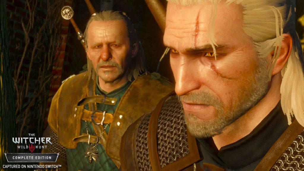 The Witcher 3 Switch Wild Hunt screenshots