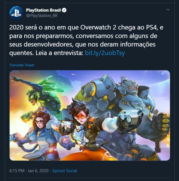 Overwatch 2 izlazi ove godine PlayStation Brasil screenshot