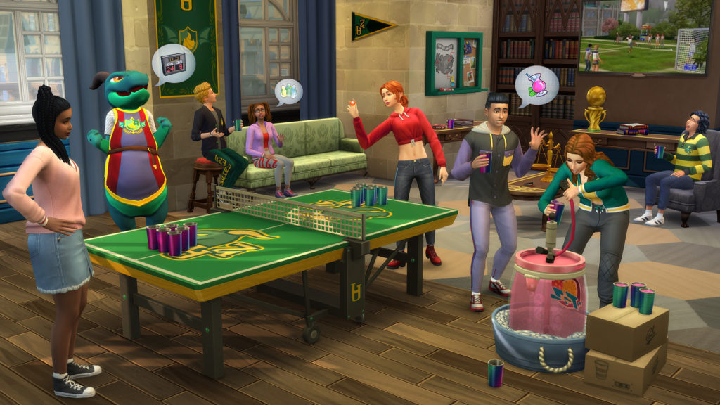 The Sims 4 Discover University screenshot
