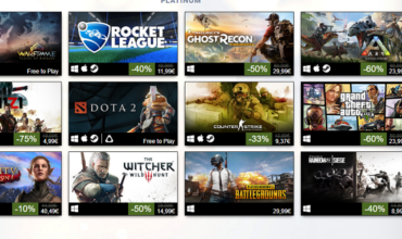 Steam - Lista najboljih igara tokom 2017