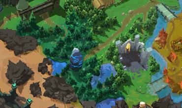 Battlerite Battle Royale mapa