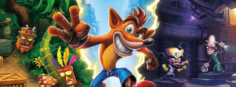 Crash Bandicoot N. Sane Trilogy cover neo
